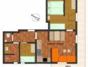 plan apartment edelweiss